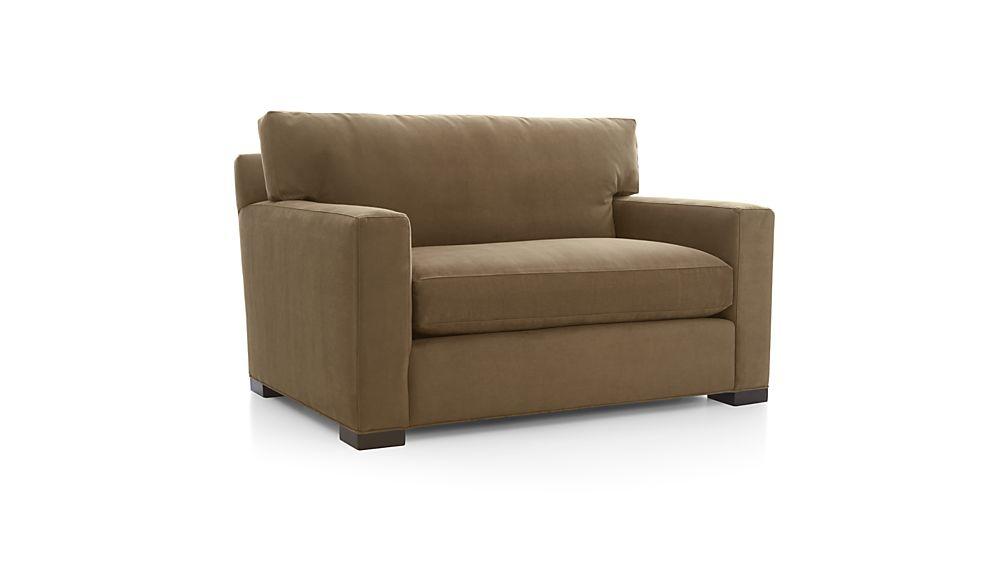 Peachy Karnes Twin Sleeper Sofa Vee Life Nickel Crate And Barrel Ibusinesslaw Wood Chair Design Ideas Ibusinesslaworg