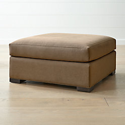 Axis Ii 2 Seater Brown Microfiber Sofa Reviews Crate
