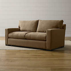 Axis Ii Brown 3 Seat Sofa In Sofas Reviews Crate And