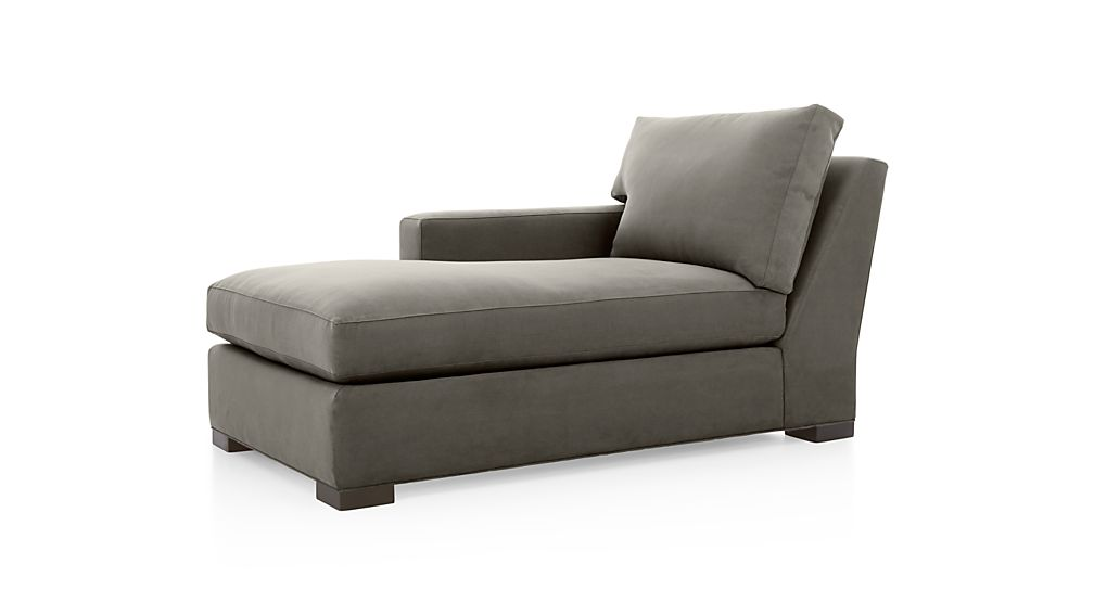 ... Axis II Left Arm Chaise Lounge ...  sc 1 st  Crate and Barrel : left arm chaise lounge - Sectionals, Sofas & Couches