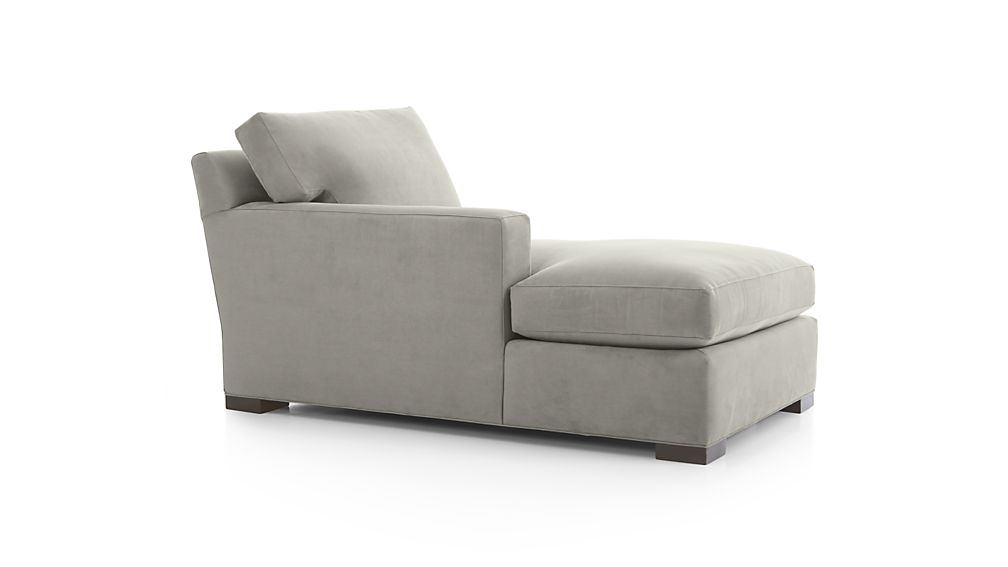 axis ii left arm chaise lounge crate and barrel
