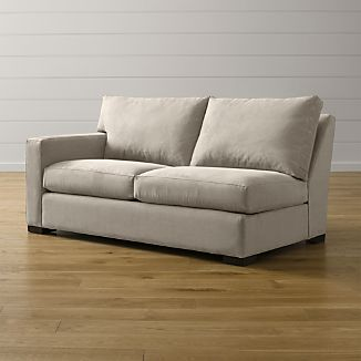 Axis II Left Arm Apartment Sofa : deep sectional couches - Sectionals, Sofas & Couches