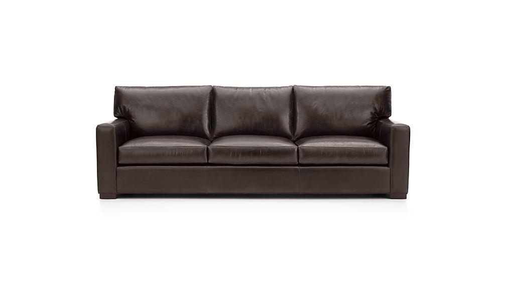 """Axis II Leather 3-Seat 105"""" Grande Sofa"""