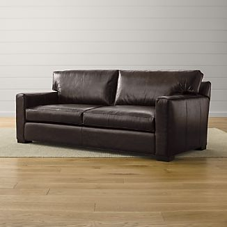 Axis Ii Leather 2 Seat Queen Sleeper Sofa