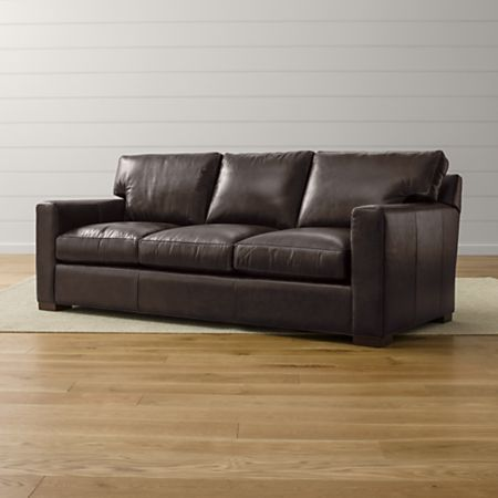Axis Ii Leather Queen Sleeper Sofa With