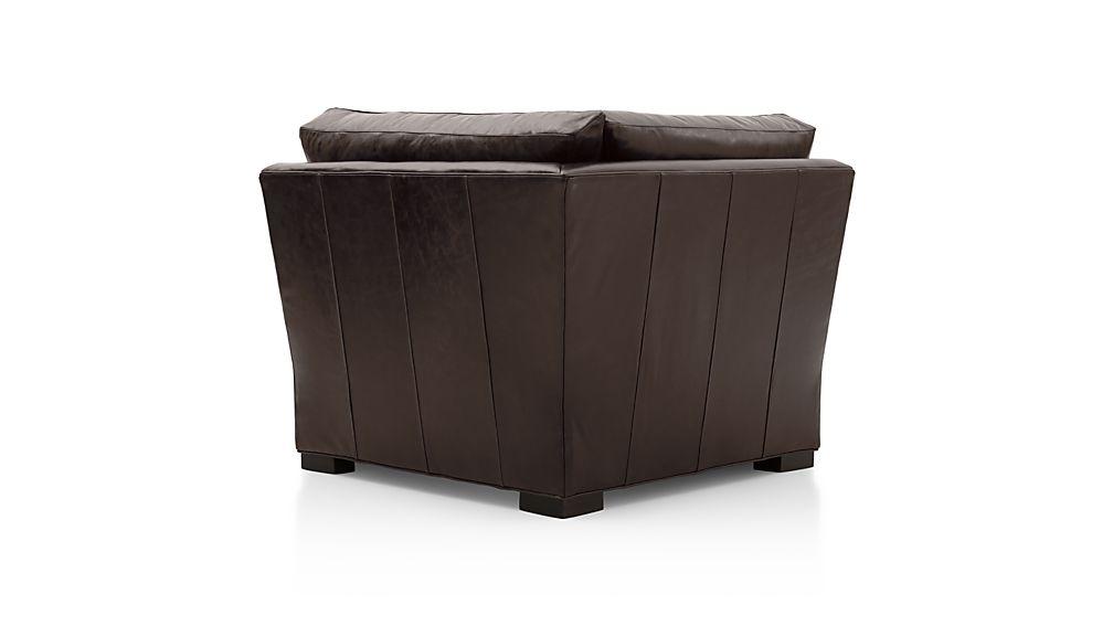 Axis II Leather Corner Chair