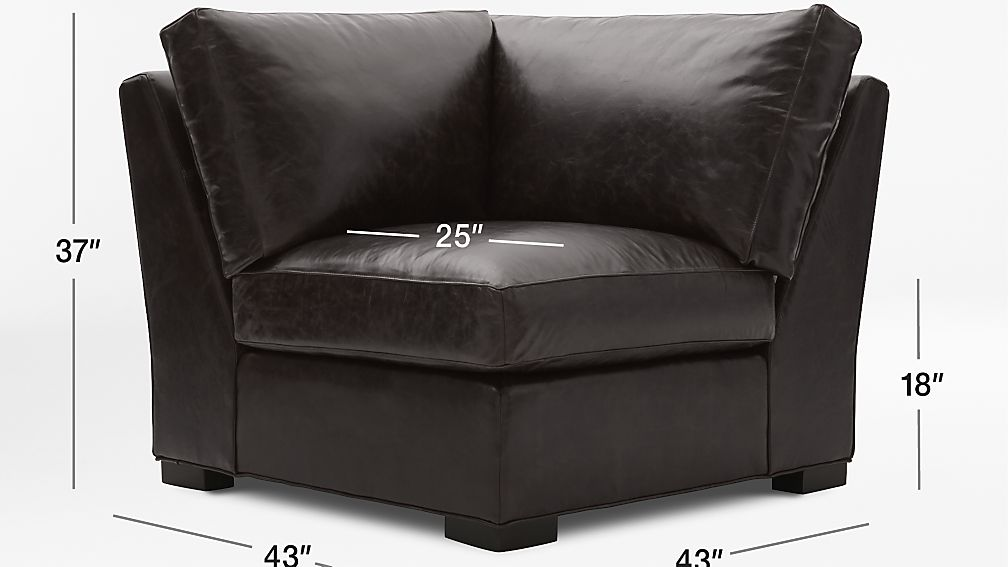 Axis Ii Leather Corner Chair Crate And Barrel