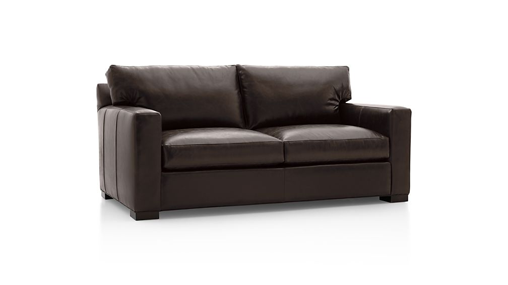 Axis II Leather Apartment Sofa