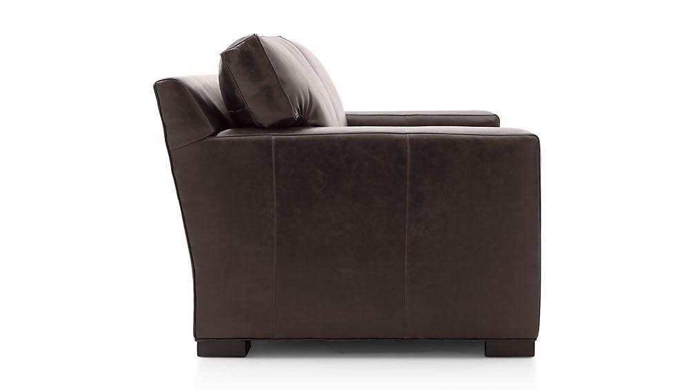 Axis II Leather Apartment Sofa