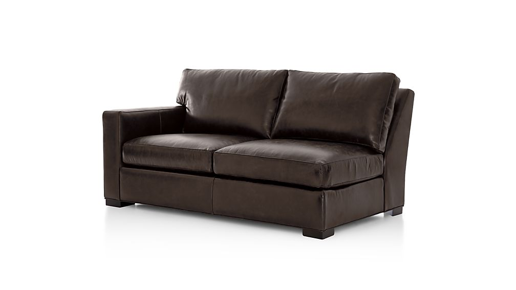 Perfect ... Axis II Leather Left Arm Apartment Sofa ...