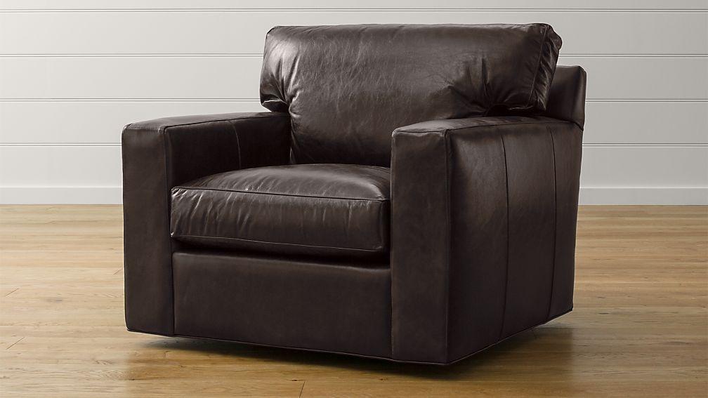 Axis II Leather Swivel Chair - Image 1 of 5