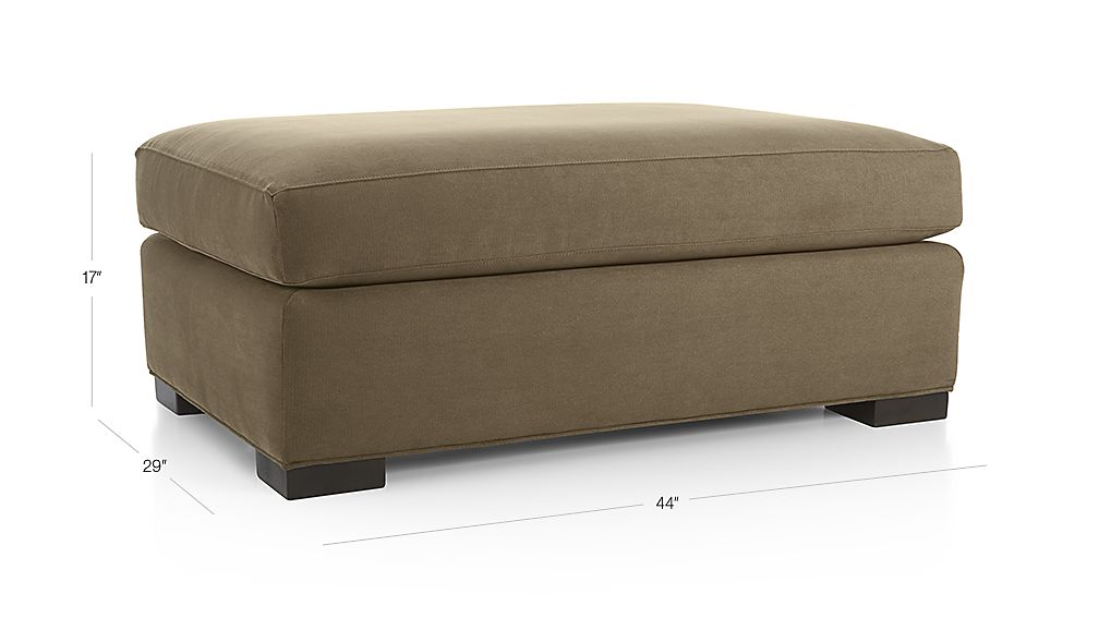Axis Ii Ottoman And A Half Reviews Crate And Barrel