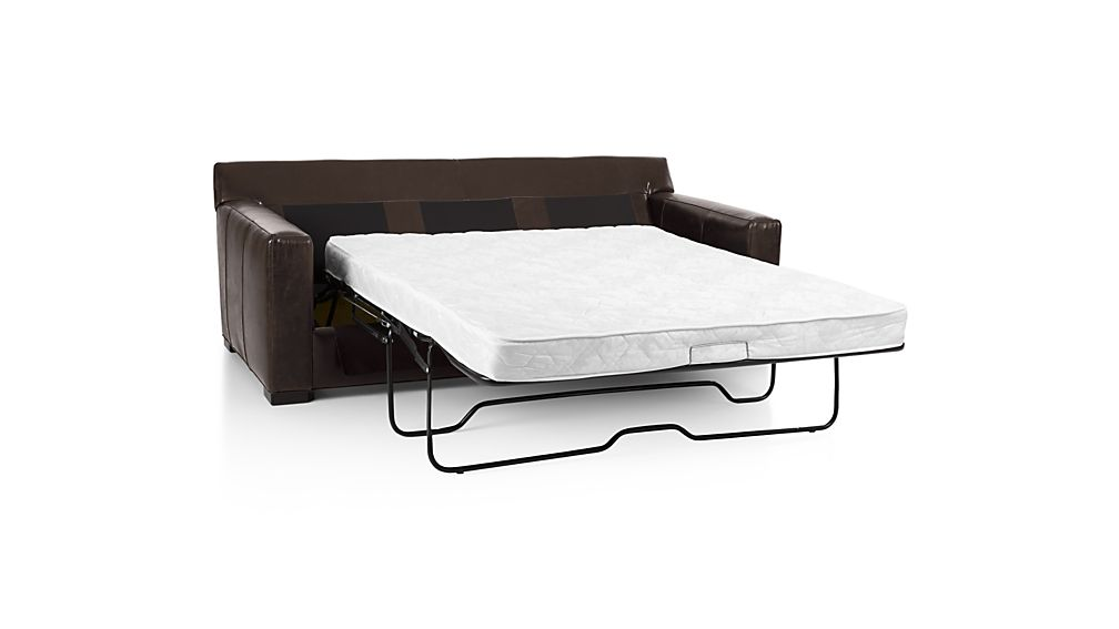 Axis II Leather Left Arm Queen Sleeper Lounger