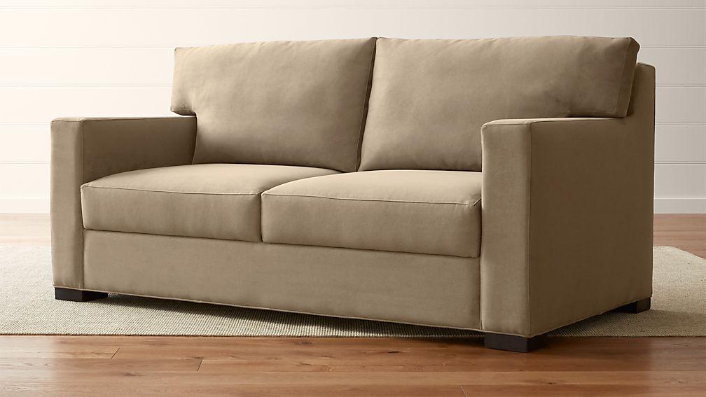 Axis II Queen Ultra Memory Foam Sleeper Sofa - Image 1 of 9