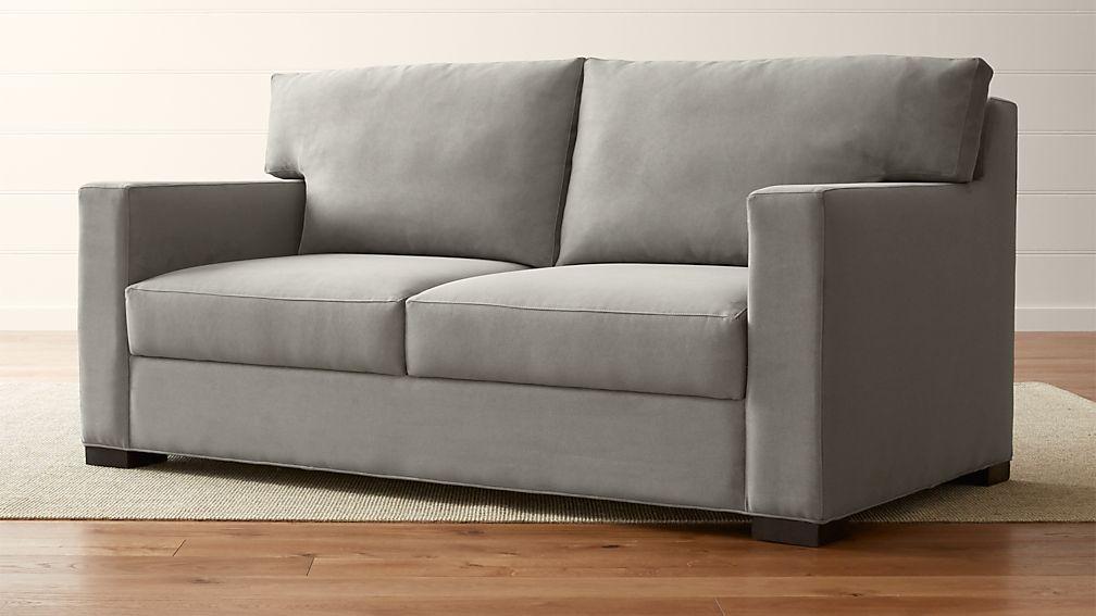 Axis II Memory Foam Sofa + Reviews   Crate and Barrel