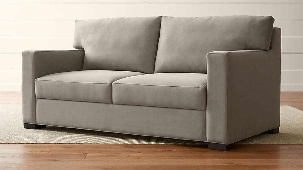 Axis Ii Queen Ultra Memory Foam Sleeper Sofa Reviews Crate And Barrel