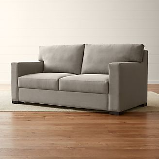 Axis II Queen Ultra Memory Foam Sleeper Sofa : sectional crate and barrel - Sectionals, Sofas & Couches