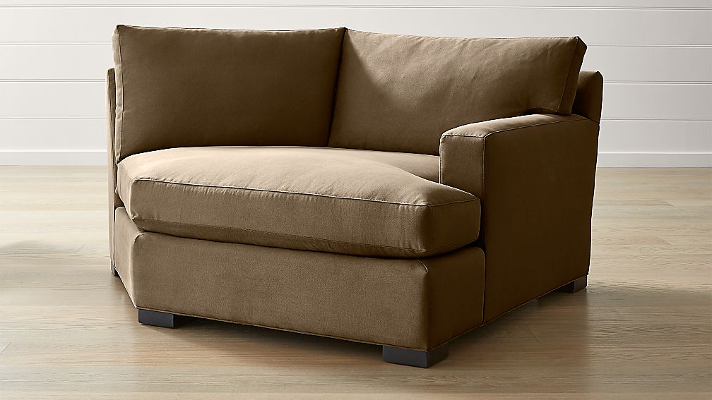 Axis II Right Arm Angled Chaise Lounge - Image 1 of 7