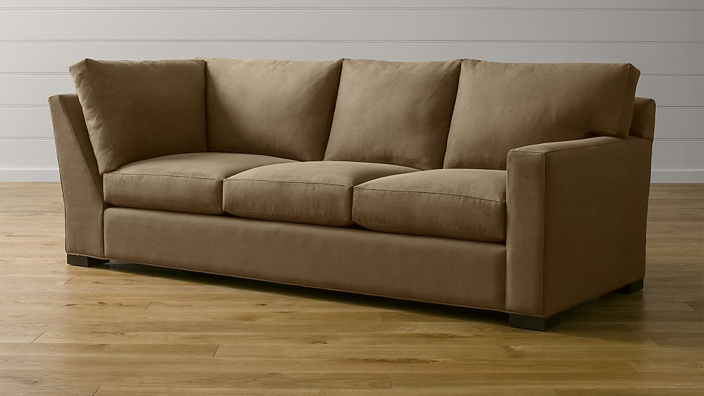 Axis II Right Arm Corner Sofa ... : axis crate and barrel sectional - Sectionals, Sofas & Couches