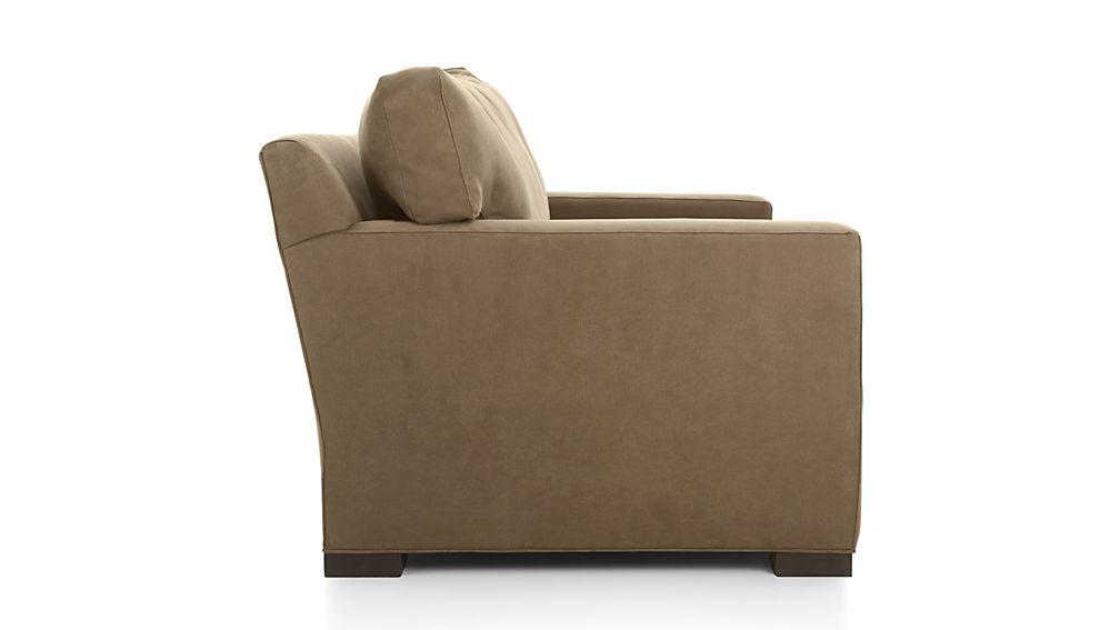 Axis Ii 2 Seat Brown Sleeper Sofa In Sleeper Sofas
