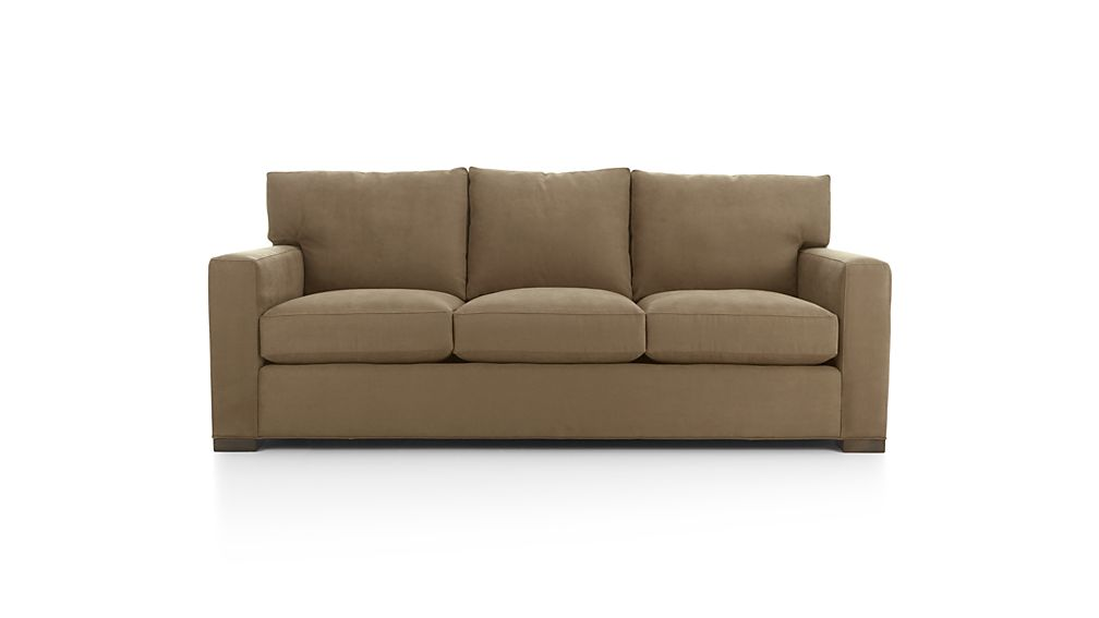 Axis ii brown 3 seat sofa reviews crate and barrel for 3 seater sofa