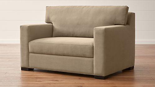 Axis II Twin Ultra Memory Foam Sleeper Sofa - Cheap Sleeper sofas