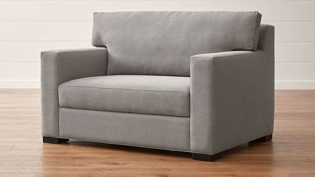 Axis Ii Twin Ultra Memory Foam Sleeper Sofa Reviews Crate And Barrel