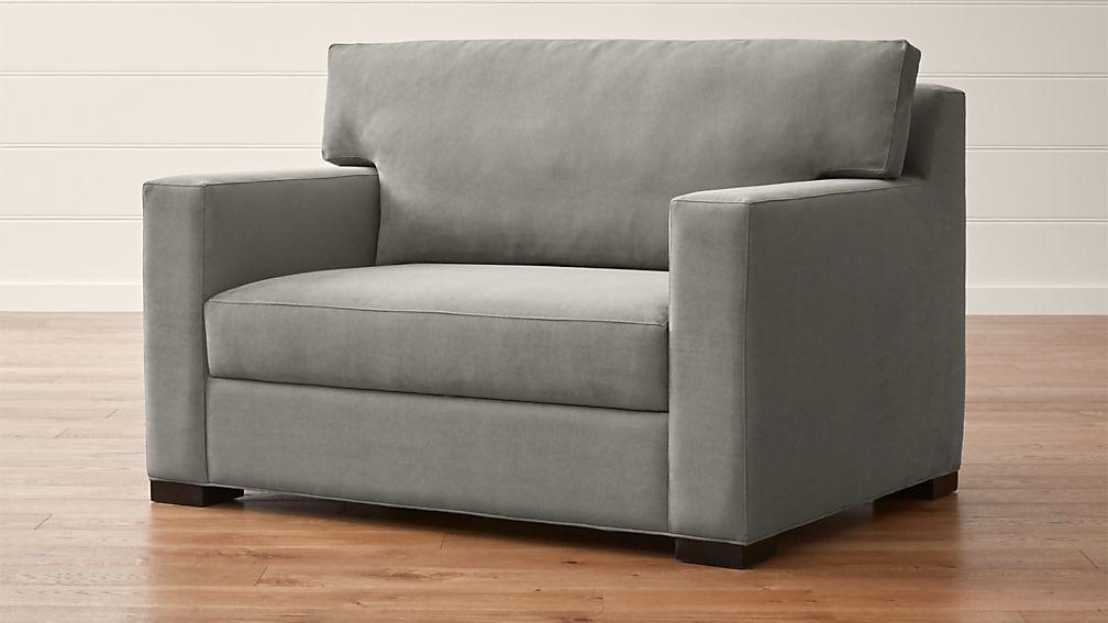 Axis II Twin Ultra Memory Foam Sleeper Sofa - Image 1 of 11