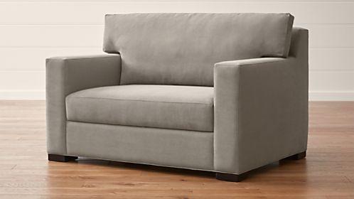 Axis II Twin Ultra Memory Foam Sleeper Sofa & Sofa Beds and Sleeper Sofas | Crate and Barrel