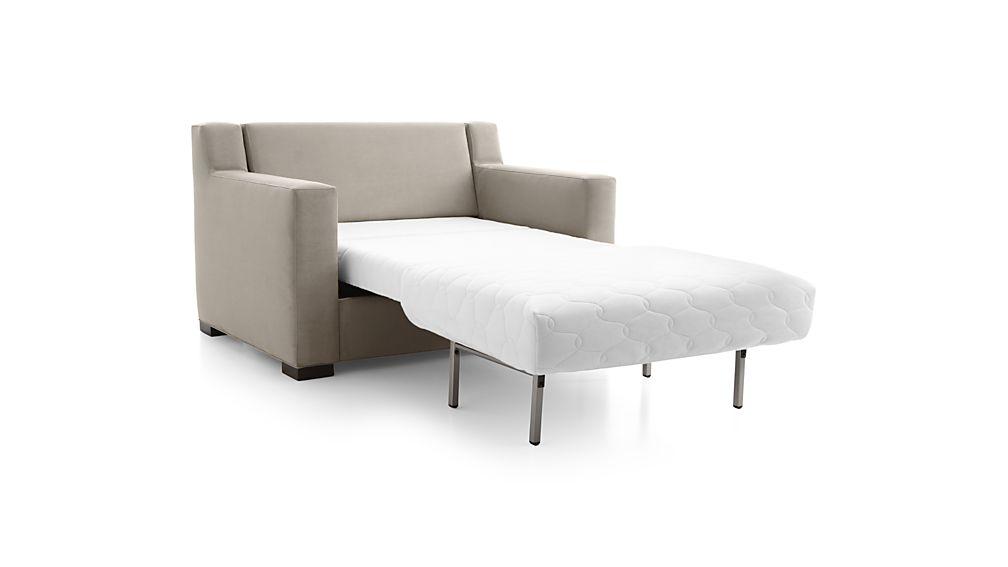 Axis II Twin Ultra Memory Foam Sleeper Sofa
