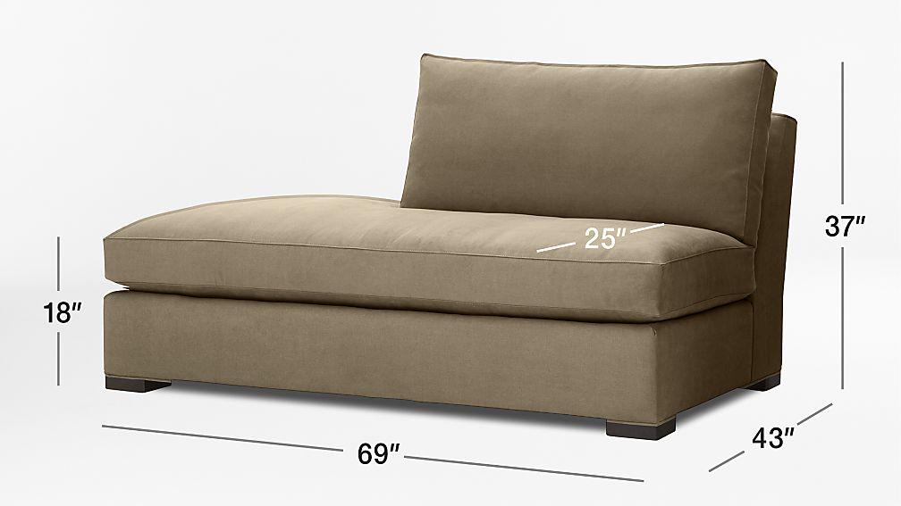 Axis Ii Left Bumper Sofa Reviews Crate And Barrel
