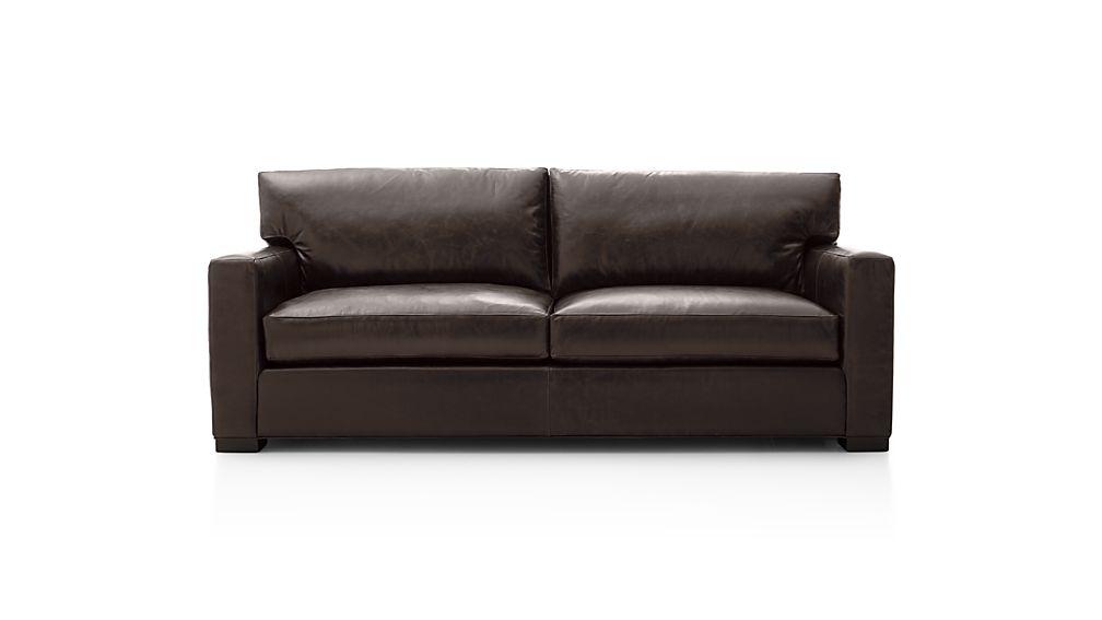 Axis II Leather 2-Seat Queen Sleeper Sofa