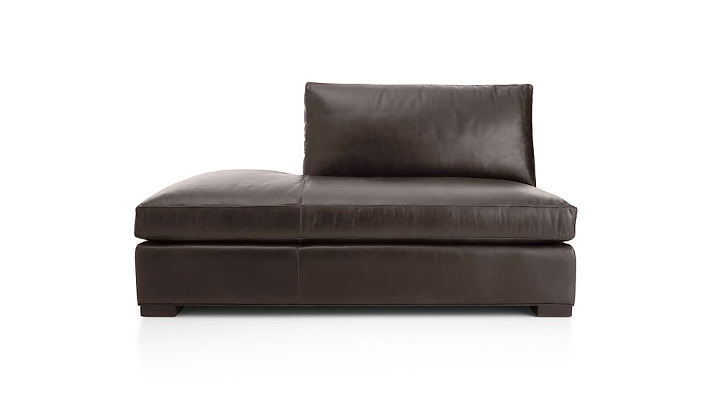 Axis II Leather Left Bumper Sofa