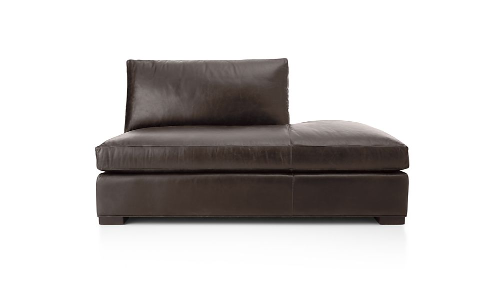 Axis II Leather Right Bumper Sofa