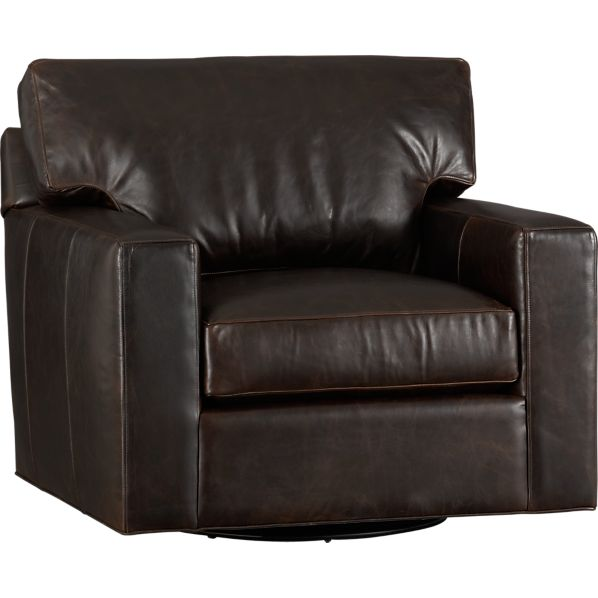 Axis Leather Swivel Chair