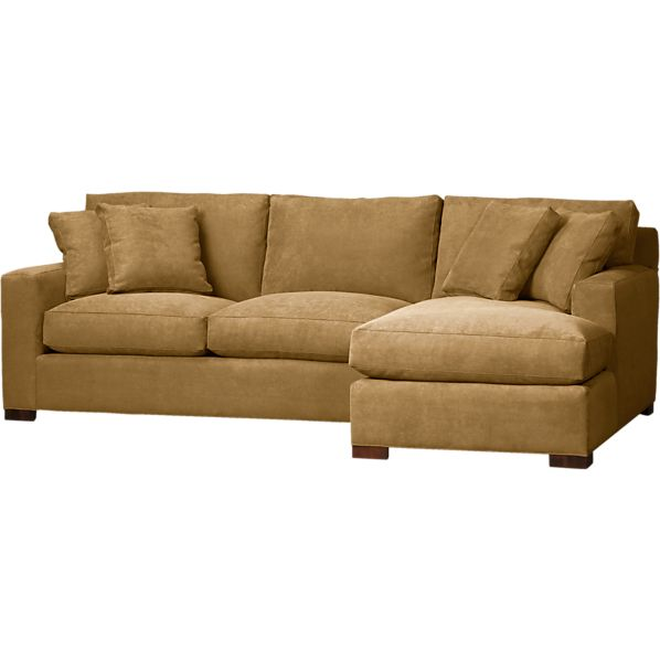 Axis 2-Piece Right Arm Chaise Sectional