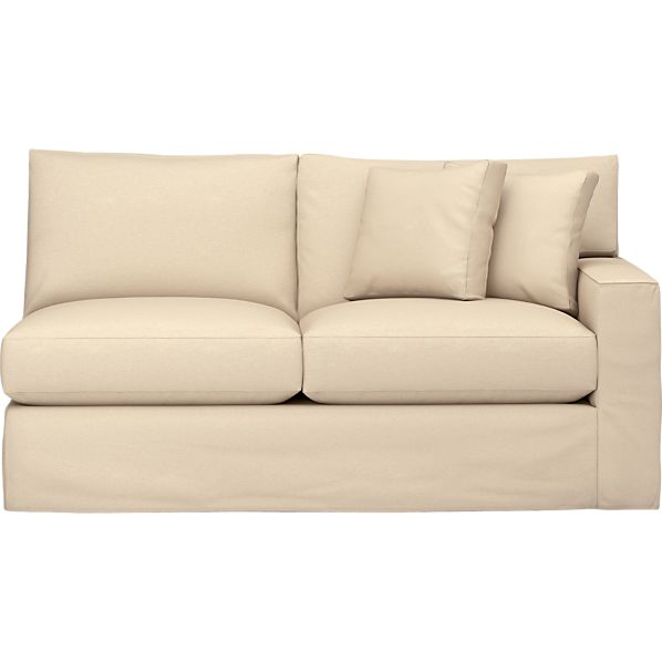 Slipcover Only for Axis Left Arm Sectional Apartment Sofa