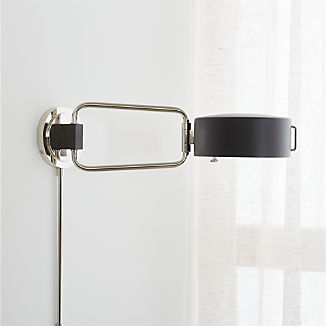 Wall Sconces Plug In And Candle Crate And Barrel