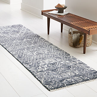 Ayla Hand Knotted Rug 2.5'x9'