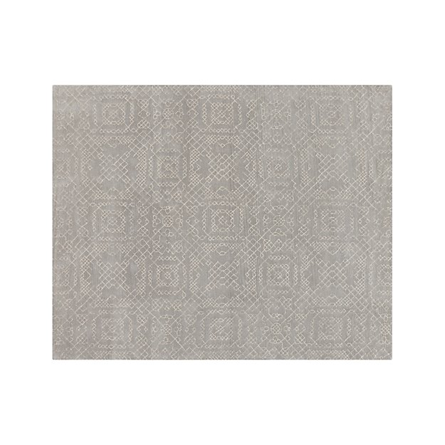 Azulejo Grey Moroccan Style Rug 8'x10' + Reviews