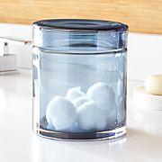 Mode Azure Medium Glass Canister