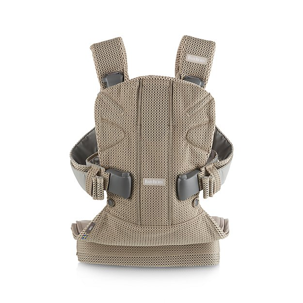 4b6d9aee255 BABYBJORN Gray 3D Mesh Baby Carrier One Air + Reviews