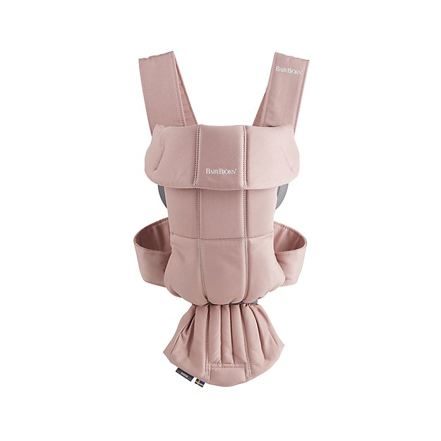 Babybjorn Light Pink Cotton Baby Carrier Mini Reviews Crate And Barrel