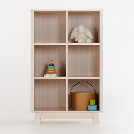Babyletto Hudson Natural Cubby Bookcase Reviews Crate And Barrel
