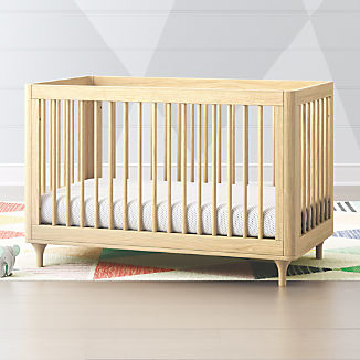 2f1fbab80bf Babyletto Lolly Natural 3 in 1 Convertible Crib