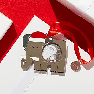 Babys First Christmas Photo Frame Ornament With 2018 Charm