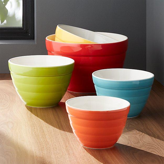 Set of 5 Baker Nesting Bowls