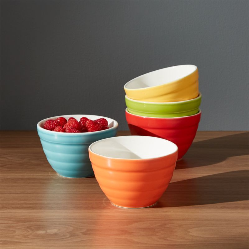 Mixing Bowls: Glass, Stainless Steel, Plastic | Crate and Barrel