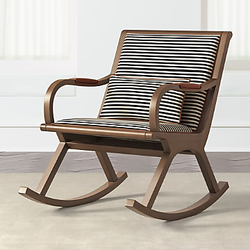 Admirable Rocking Chairs And Gliders Crate And Barrel Pabps2019 Chair Design Images Pabps2019Com