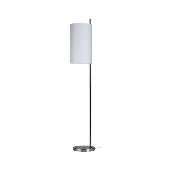 Balance Nickel Floor Lamp